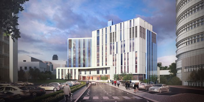Building work starts on new specialist hospital facility for Birmingham